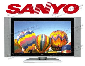 Ремонт телевизора sanyo